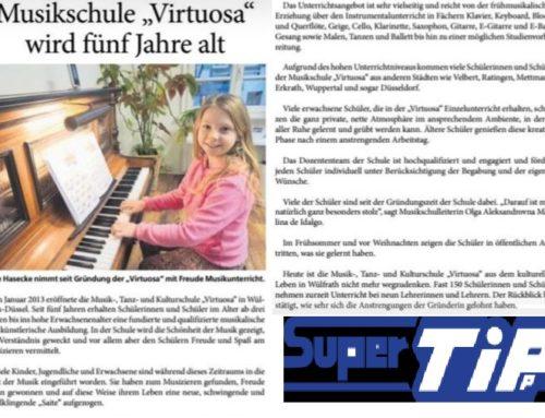 Musikschule VIRTUOSA wird fünf Jahre alt