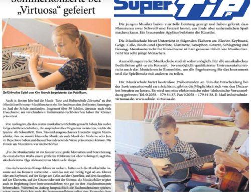 """Sommerkonzerte bei """"Virtuosa"""" gefeiert"""