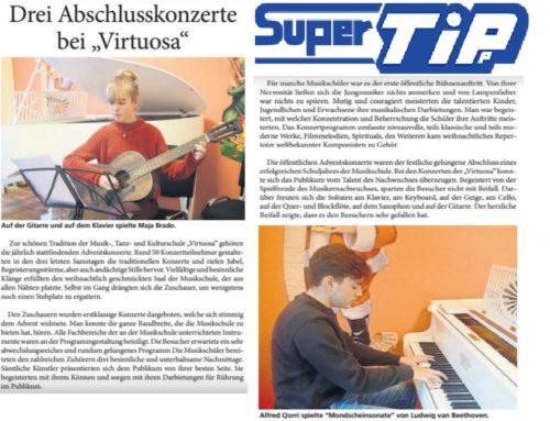 """Drei Abschlusskonzerte bei """"Virtuosa"""""""